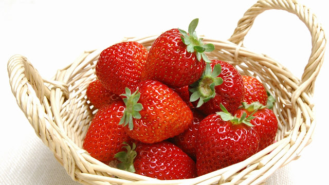healthy food, strawberry