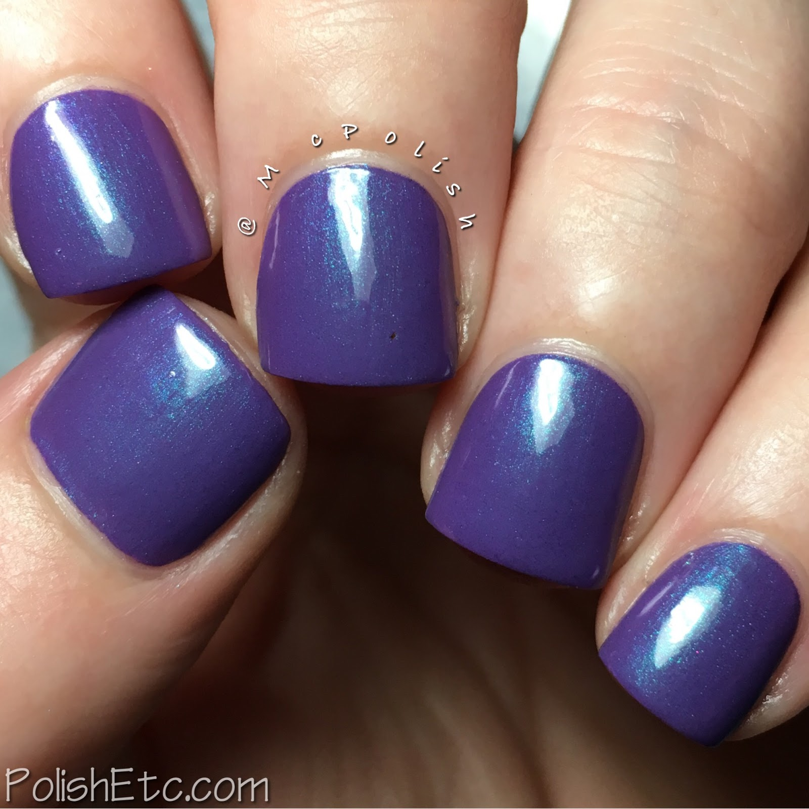 Road to Polish Con - Week 1 - McPolish - Vaudeville Venom by Tonic Polish