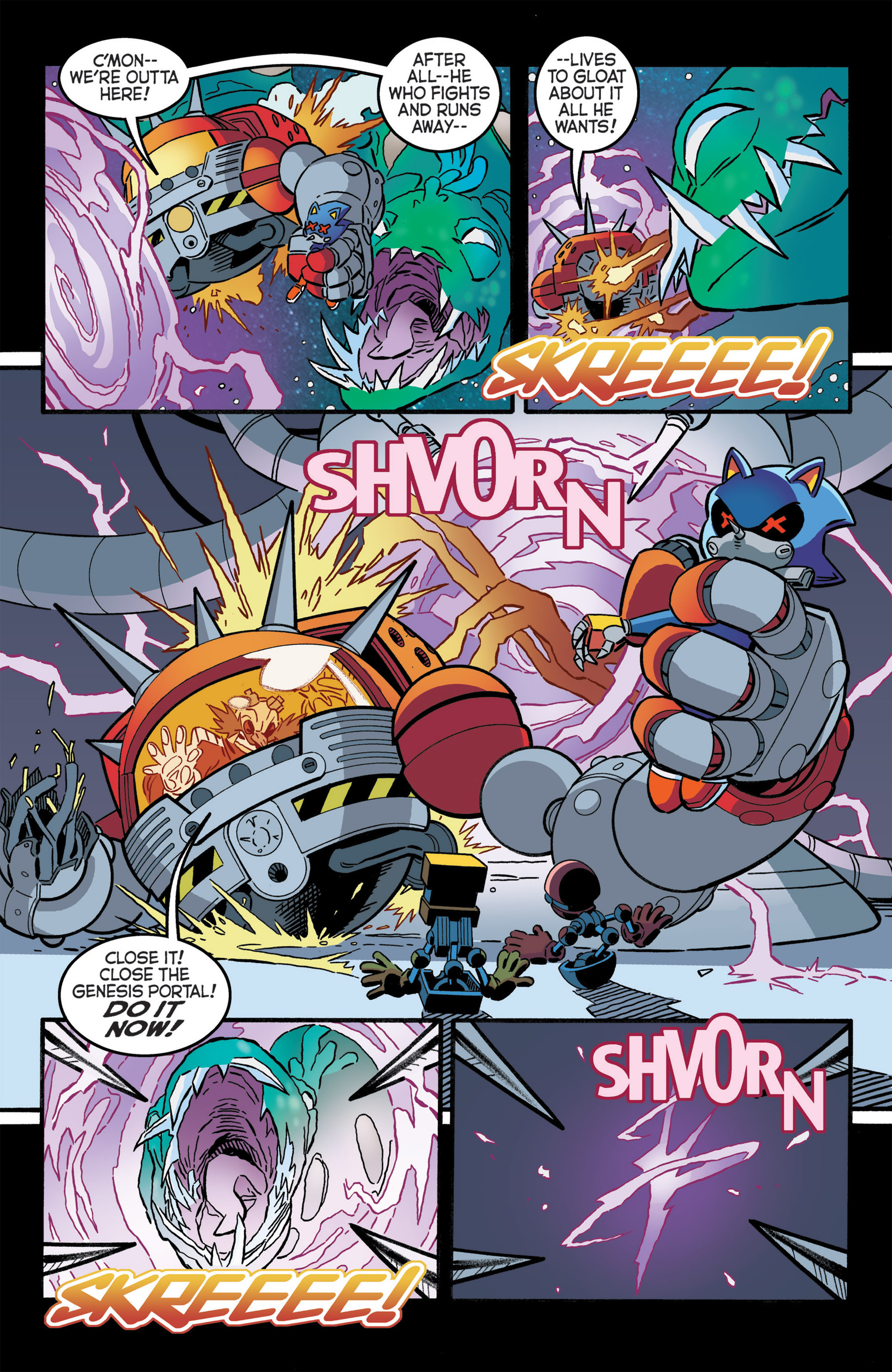 Read online Sonic The Hedgehog comic -  Issue #276 - 21
