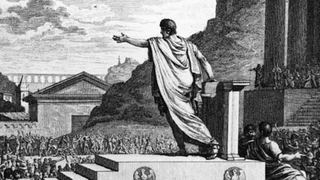 """""""Estados Unidos se parece a Roma antes de la caída de la República"""""""