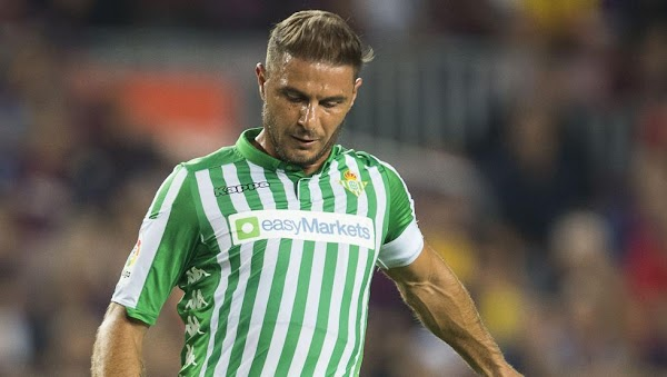 """Joaquín - Betis -: """"El fútbol por supuesto que se echa de menos, pero ahora mismo no es lo más importante""""-"""