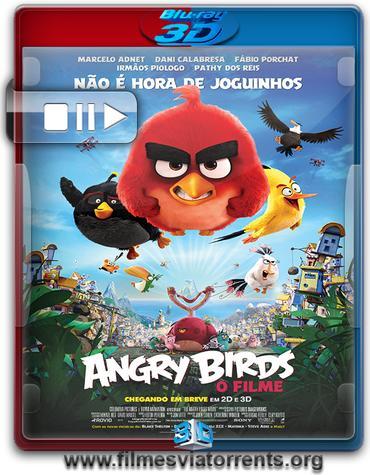 Angry Birds: O Filme Torrent – BluRay Rip 1080p 3D HSBS Legendado (2016)