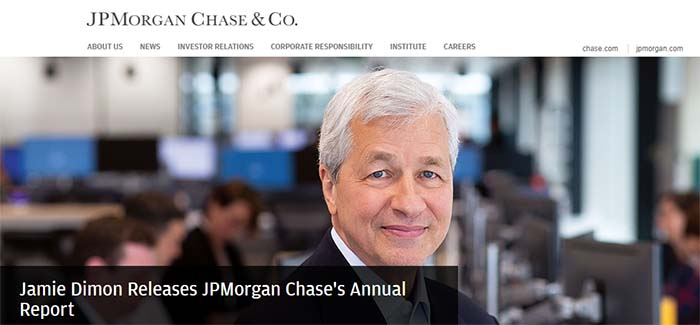 Chase richest banks in the world