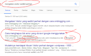 Tips Membuat Artikel Berada dihalaman Pertama Google Cara Membuat Artikel SEO Muncul di Halaman Pertama Google