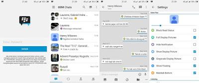 BBM MOD IOS Light v7 Based BBM 2.12.0.11