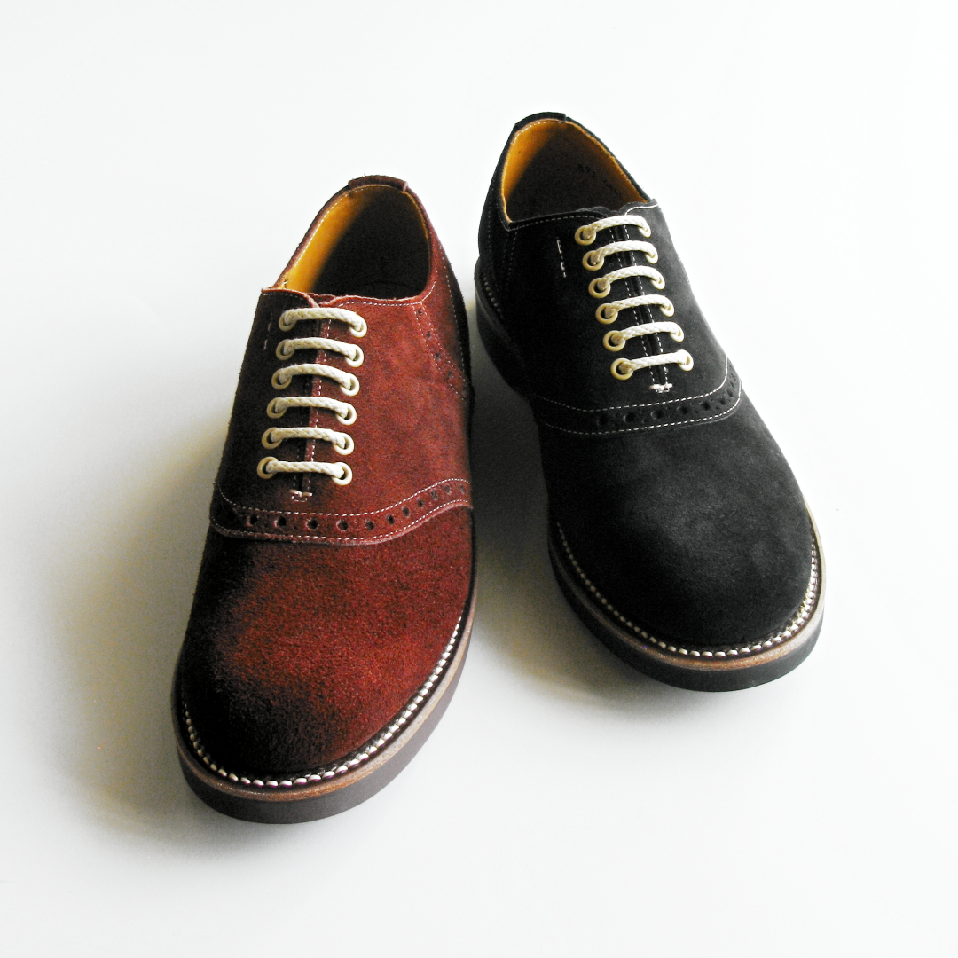 "Shoes:GLAD HAND & Co. ""×REGAL SADDLE SUEDE - SHOES"" Price:45,360yen"