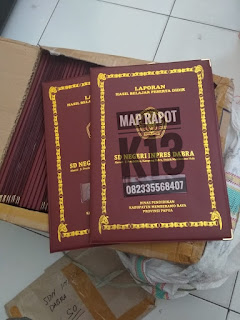 Map raport murah surabaya