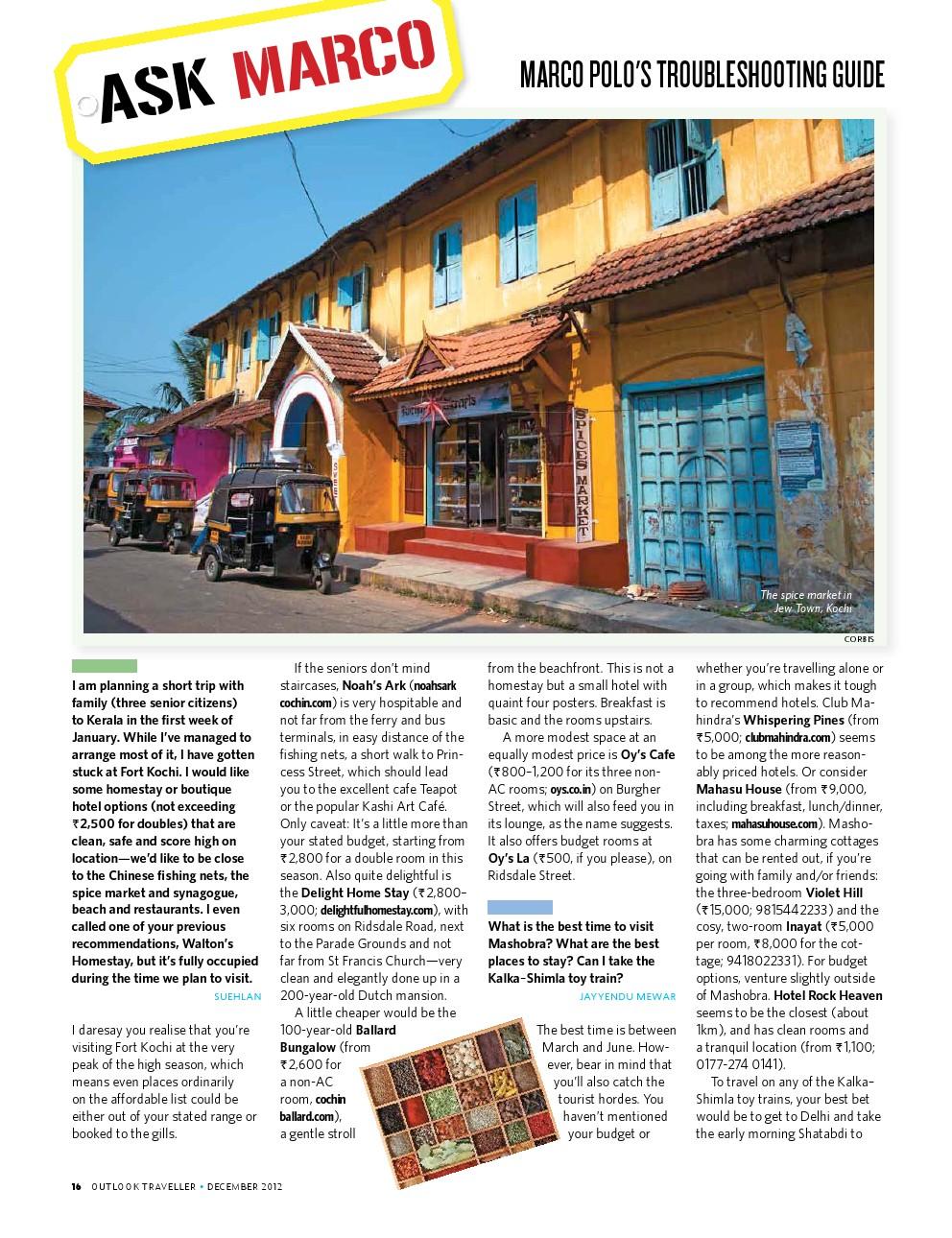 Outlook Traveller Magazine Pdf
