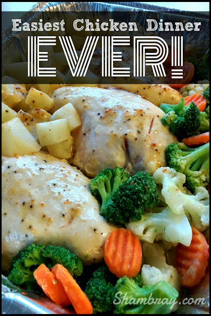 easy chicken dinner one pan potatoes | easy chicken dinner one pan veggies
