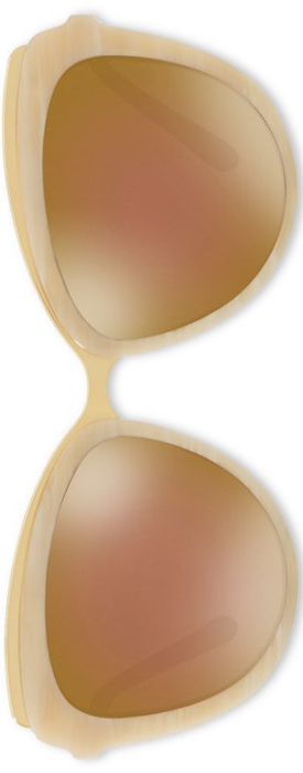 Dolce & Gabbana 57MM Mirrored Cat's-Eye Sunglasses