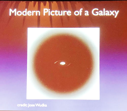 With the advent of Dark Matter, this really is the modern view (Source: AAS Denver presentation by Alison Coil, UCSD)