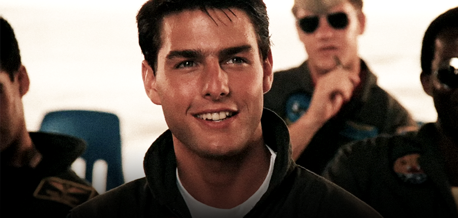 Tom Cruise în filmul Top Gun