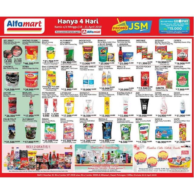 #Alfamart - #Promo #Katalog JSM Periode 18 - 21 April 2019