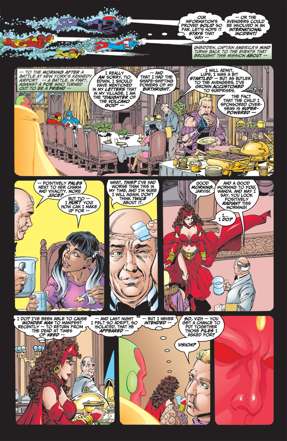 Read online Avengers (1998) comic -  Issue #9 - 4