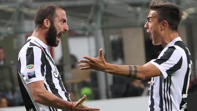 Coppa Italia: Dybala-Higuain Antarkan Juventus ke Perempatfinal