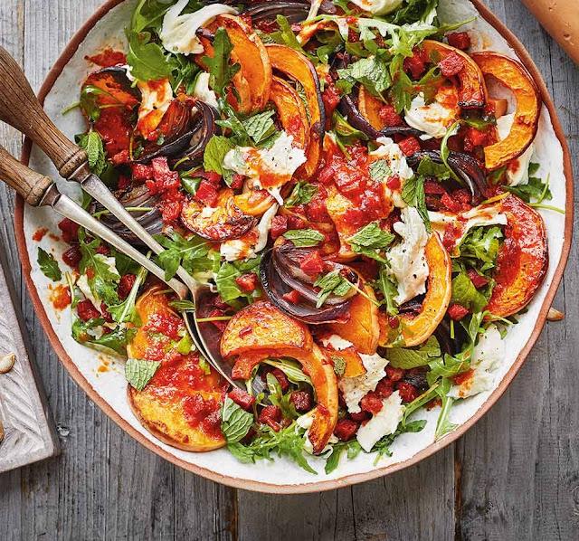 Squash, Chorizo And Mozzarella Salad Recipe