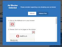 Cara Memasang Adblock Killer/Anti Adblock Versi Terbaru 2018