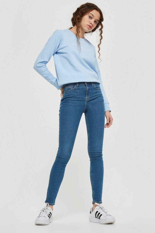 4c1f9211ce15 MOTO Authentic Blue Jamie Jeans