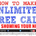 HOW TO MAKE UNLIMITED FREE CALL WITHOUT SHOWING NUMBER | ANDROID SUPERSTARS