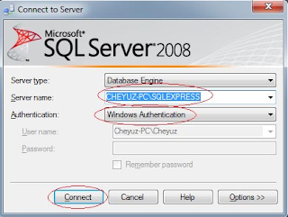 Cara Membuat Database dan Tabel Sql Server