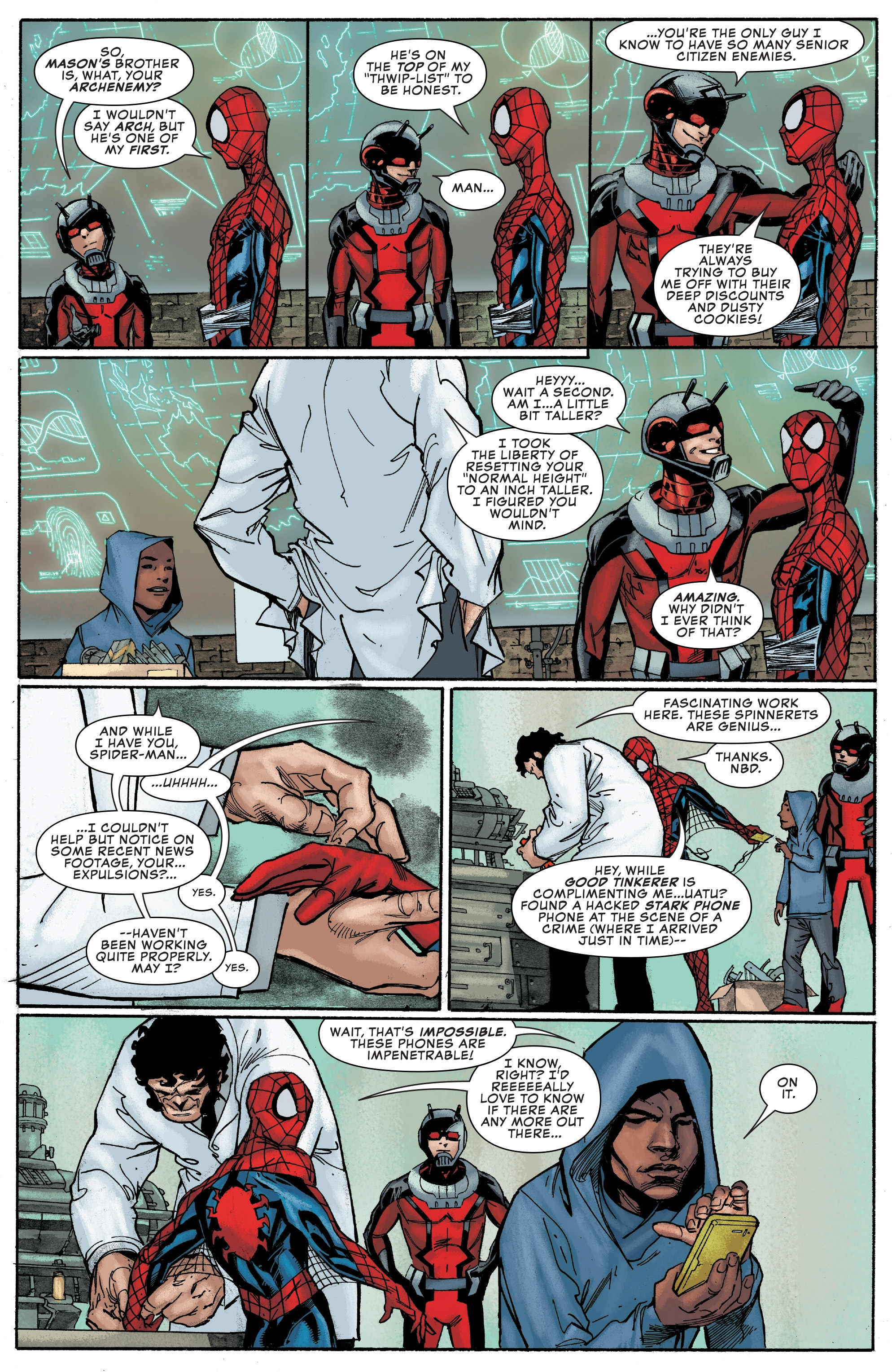 Read online Peter Parker: The Spectacular Spider-Man comic -  Issue #1 - 11