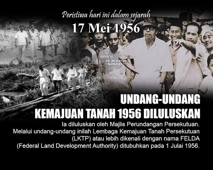 Hari Ini Dalam Sejarah - 17 Mei 1956