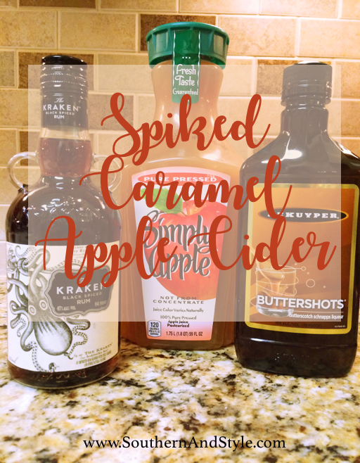 Southern style favorite fall drink spiked caramel for Fun fall drinks