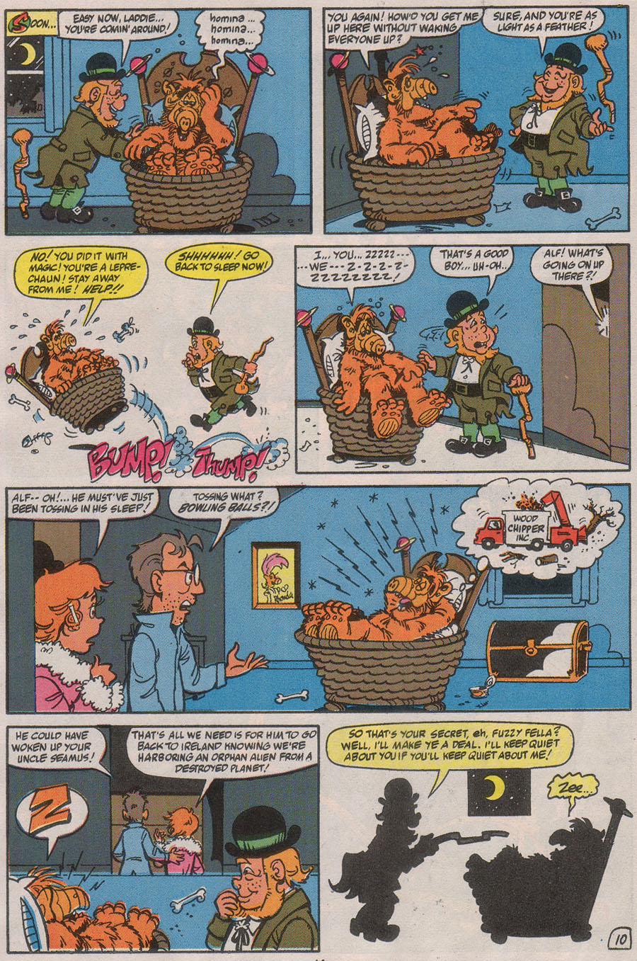 Read online ALF comic -  Issue #40 - 16
