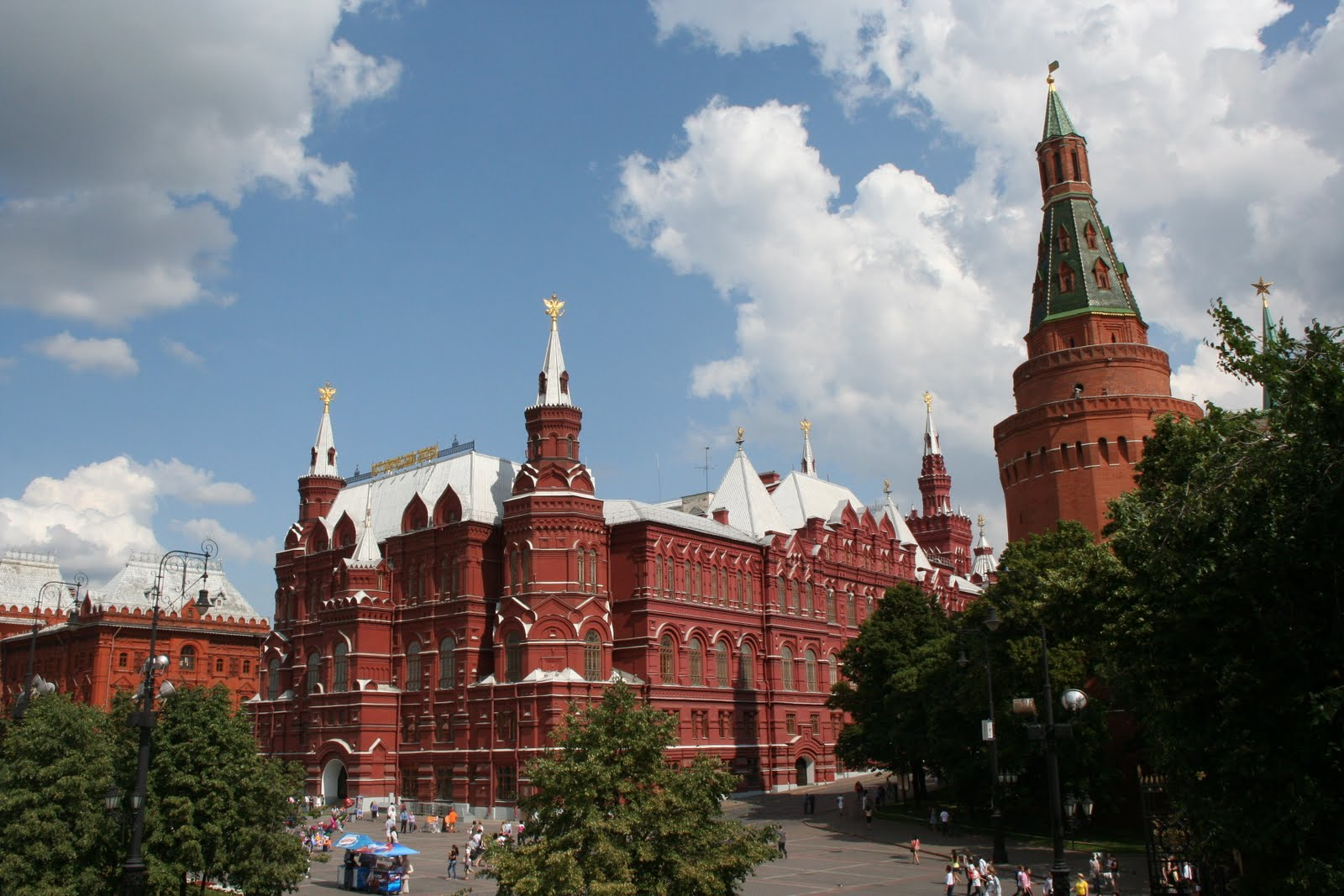 About eternal wanderings and about Moscow. Part 1: Star Trek in Ostankino 77