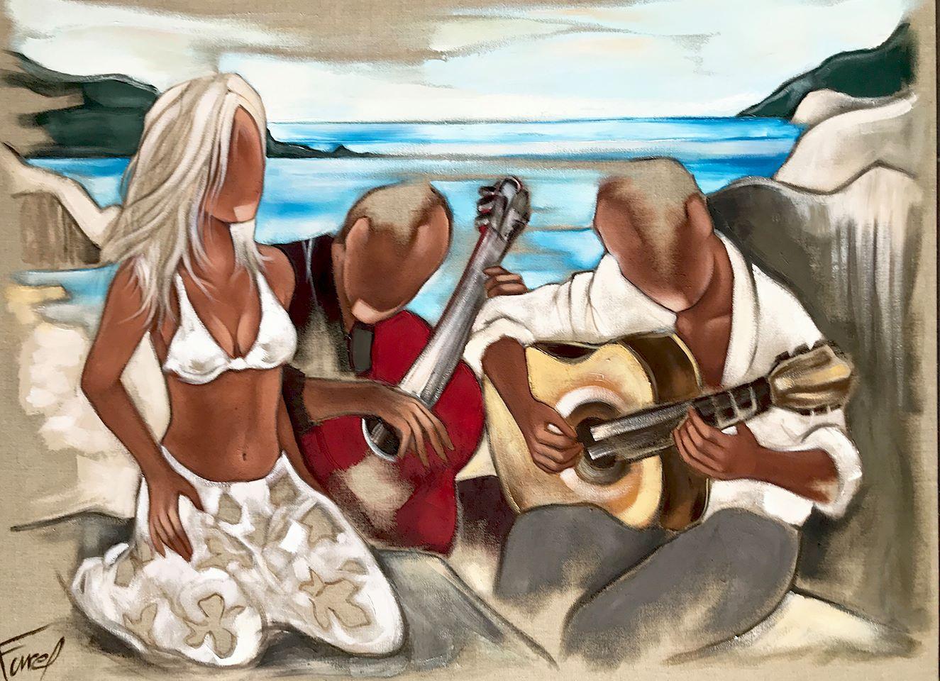 Pierre Farel Les guitares de la plage