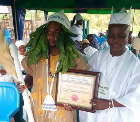 ifa priest sells fake chieftaincy title american
