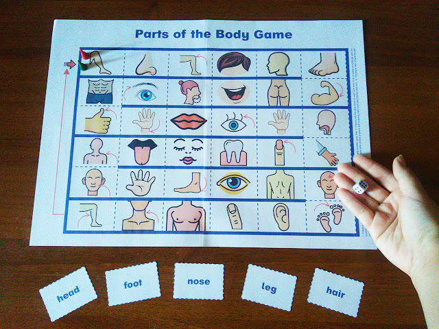 Parts of the body game