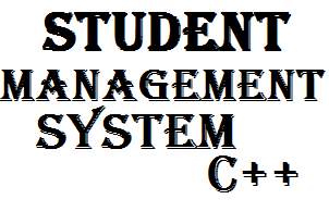 Student Management System in C++ with Source Code