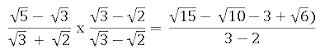 Cara merasionalkan penyebut yang terdiri dari 4 angka