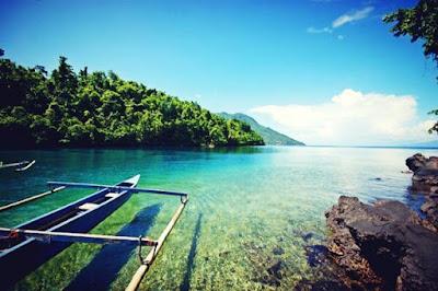 Pesona keindahan Pantai Sulamadaha Ternate