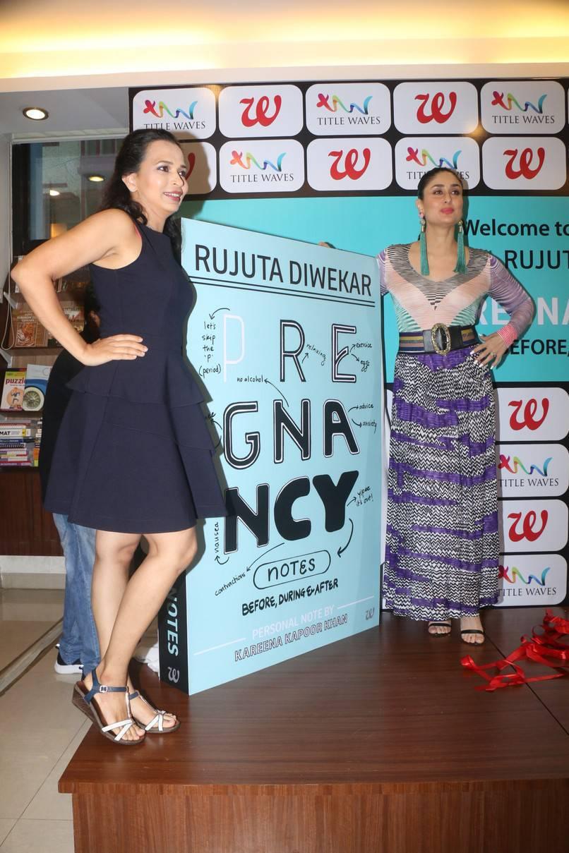 Kareena Kapoor At Pregnancy Book Launch Event Stills