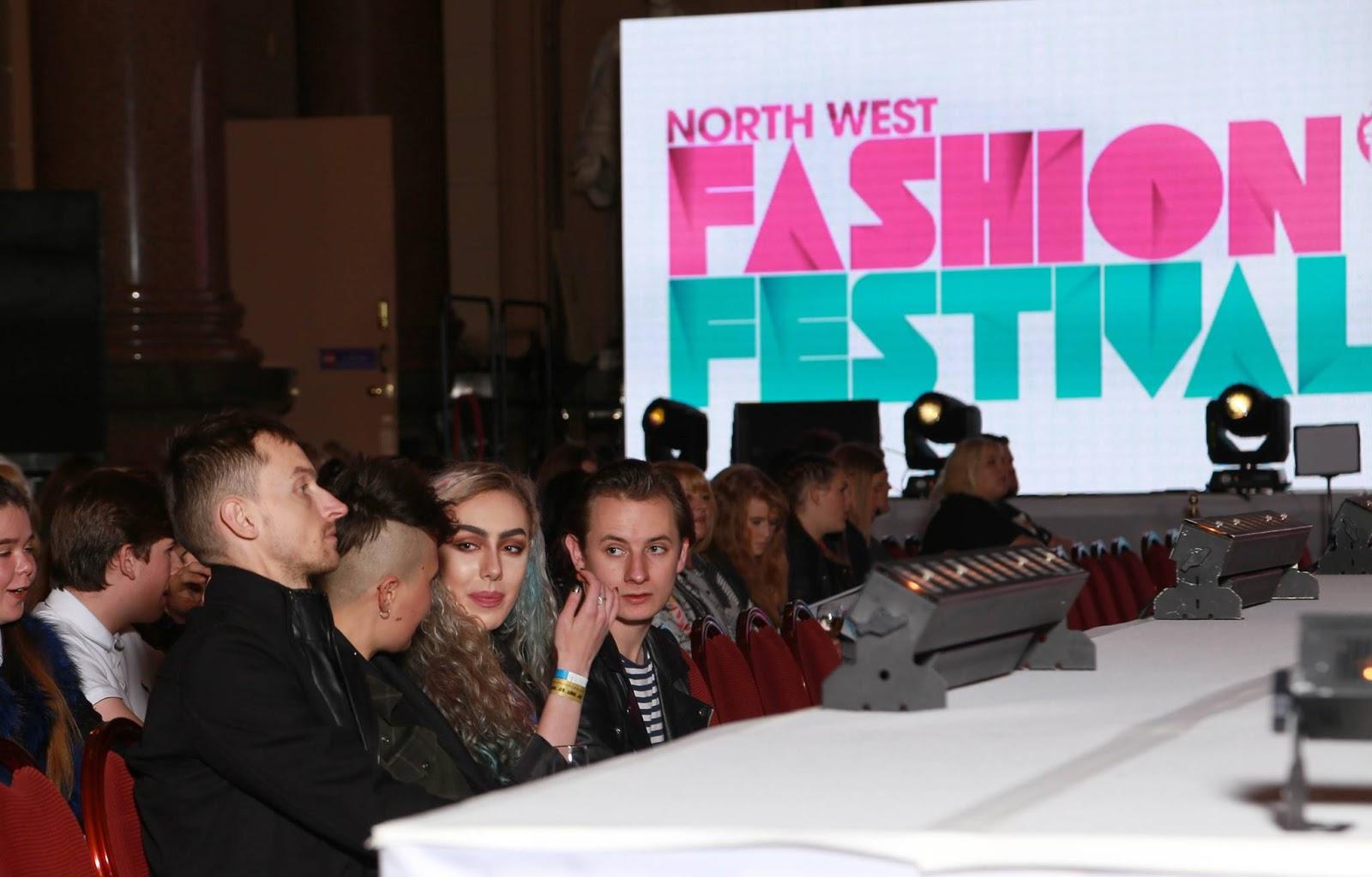 Stephi LaReine catwalk front row North West Fashion Festival 2016