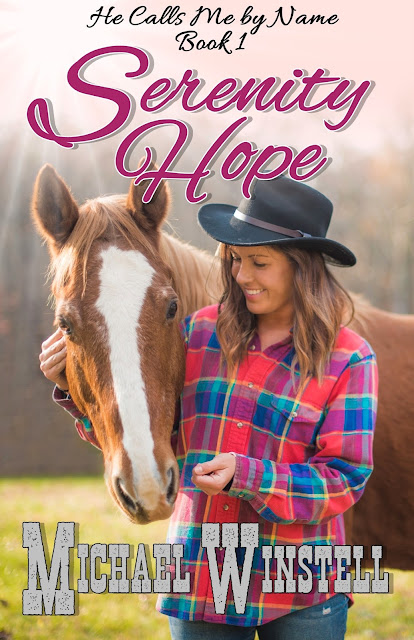 Serenity Hope, Emily Gregory, He Calls Me by Name, girl, horse, book, book cover, Jenny V Photography