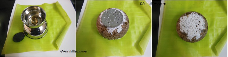 How to make Chiratta Puttu- Step 4