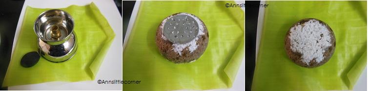 How to make Chiratta Puttu- Step 4