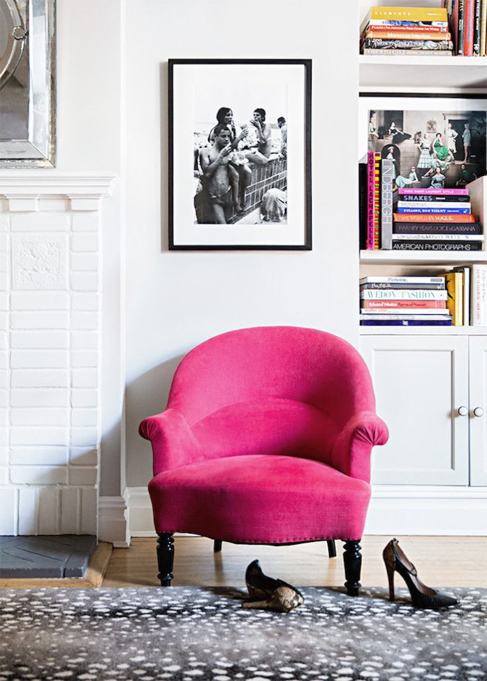Lovely Pink Chair