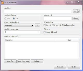How do I KGB Archiver Convert to Software | SAHABA BD TEA™