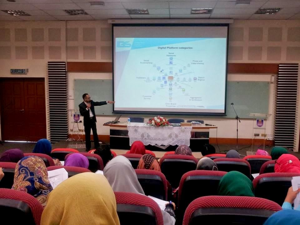 Program Digital Marketing, UiTM Arau, Perlis.