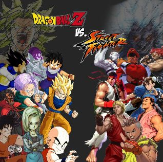 Dragon Ball vs Street Fighter 3 PC Full Version