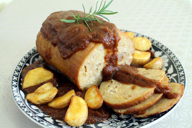 Roti de pollo al ron en crock pot