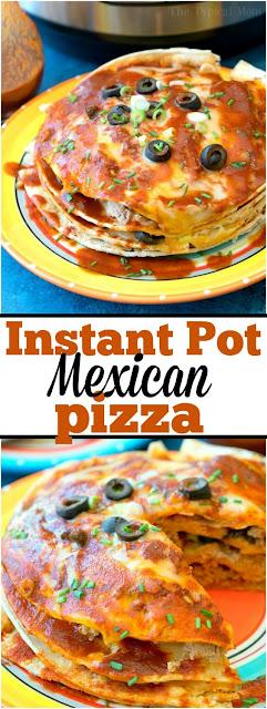 Instant Pot Mexican Pizza