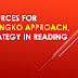 Reading Materials for Marungko Approach, a Strategy in Reading