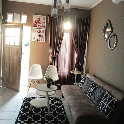 dekorasi ruang tamu dengan budget minim