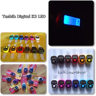 Tasbih Digital LED K3 Grosir