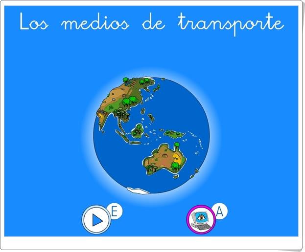 """""""Los medios de transporte"""" (Ciencias Sociales de 1º y 2º de Primaria)"""